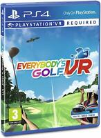 EVERYBODY'S GOLF VR - PSVR - PLAYSTATION 4 PS4 - NEW & SEALED - IN STOCK NOW!!!