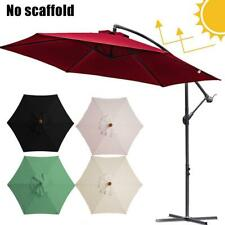 Replacement Garden Parasol Canopy Cover For Patio Sun Umbrella (without bracket)