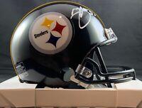 Minkah Fitzpatrick autographed signed Mini Helmet Pittsburgh Steelers Beckett