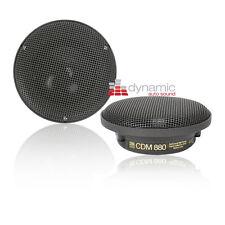 "MOREL CDM-880 3.5"" Car Audio / Stereo Mid-Range Speakers Drivers New"
