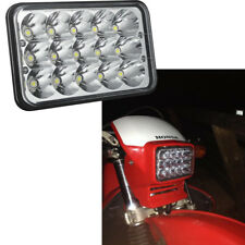 NEW 4X6 INCH LED Headlight Lamp For Honda XR250 XR400 XR650 Suzuki DRZ