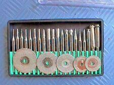 5 x Diamant Mini Trennscheibe + 18 Diamant Mini Fräser Trennscheiben Minifräser
