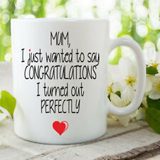 Funny Novelty Mug Mothers Day Perfectly Joke Gift Coffee Tea 11oz Cup WSDMUG675