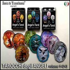 tarocchi degli angeli mazzo carte oracolo vintage lettura 72 arcani antichi rari
