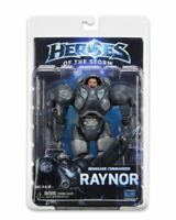 """NECA Heroes Of The Storm Jim Raynor Starcraft Blizzard Warcraft 7"""" Action Figure"""