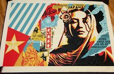 Obey Giant Shepard Fairey Welcome Visitor Large Format Urban Art Print Poster