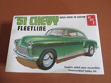 1951 Chevy Bel Air Fleetline AMT 1:25 #T284 Plastic Model Kit NEW Factory Sealed