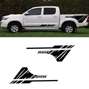 Pickup Truck Body Stickers Decoration Decals For Ford Nissan Dodge Universal