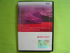 CD NAVIGATION BECKER TRAFFIC PRO DTM HIGHSPEED 7.0 MITTELEUROPA VW BMW PORSCHE