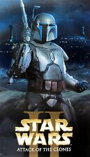 STAR WARS II ATTACK OF THE CLONES MOVIE DVD POSTER/BANNER-Soldier Holding Weapon