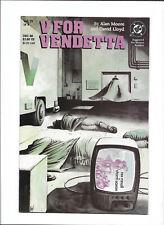 V For Vendetta #4 [1988 Nm-] Alan Moore