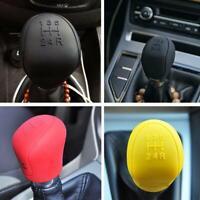 Car Auto Manual Silicone Shift Gear Head Knob Cover AND Handbrake Protector GRIP