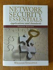 Network Security Essentials: Applications and Standards 4th Edition 4E Stallings