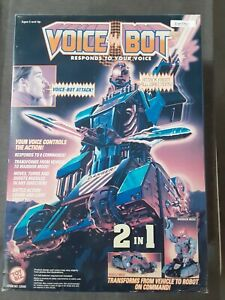 Toy Biz 1993 2 in 1 Transforming Robot Vehicle Voice Bot Voice Activated