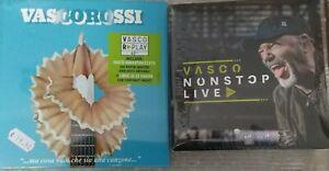 Lotto Vasco Rossi Vasco Non Stop Live + ma cosa vuoi che sia una canzone