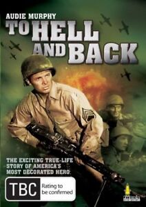 To Hell And Back DVD Audie Murphy New and Sealed Australia Region 4