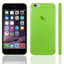 Para Apple iPhone 6S 6 se 5 5S 4S Recubrimiento de Funda para Estuche de silicona transparente derretir