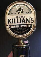 Beer Tap Handles Knobs - George Killian's Irish Stout Beer - NIB - Man Cave Bar
