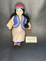 RARE VINTAGE DOLL- National COSTUMЕ-USSR/RUSSIA, Asian Chinesse Braised Hair