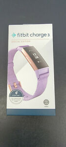 Fitbit Charge 3 Special Edition Fitness Activity Tracker, Size S/L - Lavender