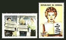 SENEGAL 1999 MNH 2v, Films, I Love Lucy, TV Comedy Series, Lucille Ball