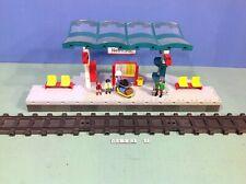 (O4382.7) playmobil Grand quai de gare ref 4382 bte cplt 4010 4011 4016 4017