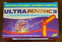 ULTRA ADVANCE 3 Arthritis Joint Pain Reumatism 30 caps ORIGINAL, CURCUMA JINGER
