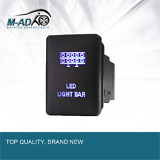 Push Switch LED LIGHT for Mitsubishi Triton MQ MR Pajero SPORT Outlander  BLUE
