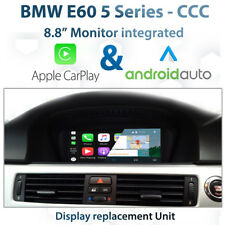 """BMW E60 CCC iDrive - 8.8"""" Touch CarPlay Android auto Display replacement unit"""