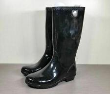 UGG Shaye Rain Boot, Black, Womens Size 8 / 39