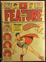 Feature Comics #87 1945- DOLL MAN- Maze Murder GD/VG (10 characters)