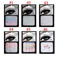 3D Face gems silver star sticker Festival temporary eyes Decoration tattoos