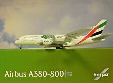 Herpa Wings 1:500  A380-800 Emirates A6-EOW  Expo 2020  533522  Modellairport500