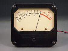 Medidor de Nivel de Audio WESTON 802 Vu micrófono Tube Vintage Langevin Rca preamplificador de micrófono