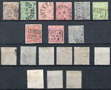 Briefmarken Altdeutschland Norddeutscher Postbezirk, kleines Lot