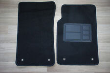Car Floor Mats Custom Made Front Pair w/Black Edging for Holden Commodore VE
