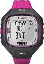 TIMEX T5K753 F7 | IRONMAN | schwarz/lila | Damenuhr | NEU & OVP | 50m | GPS