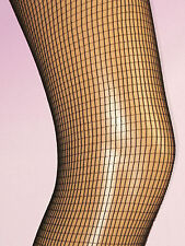 Square Net FISHNET TIGHTS Black. Ladies size 8-12. NEW punk goth 80s madonna