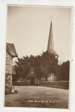 Hever Church Kent England Vintage Rppc Postcard Us051