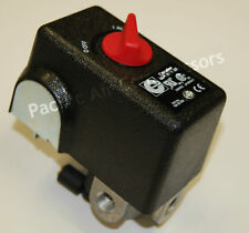 On Off Pressure Switch 26 Amps 120 240 Volts 120 155 Psi With Unloader Valve
