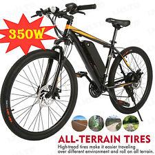 "350W 26"" Electric Bike Mountain Bicycle EBike SHIMANO 21 Speed 36V Li-Battery !!"