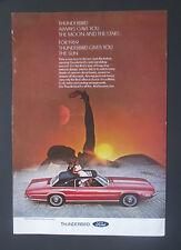 1969 Ford Thunderbird  2 Door Landau Vintage 1969 Print Ad