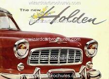1956 FE HOLDEN AUSTRALIA GMH 400mm x 300mm HEAVY STEEL GARAGE SIGN NOT - TIN