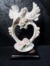 "Capodimonte - Giuseppe Armani - "" Pair Of Doves "" Figure Florence"