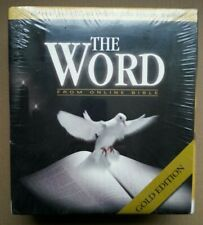 The Word Bible Library, Gold Edition (Pc Win 95/98/Nt/4.0/Me/Xp/2000) Nib