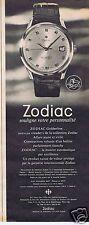 Publicité Advertising 026 1964 Zodiac montre Goldenline