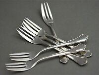 Chippendale HTB Hanseatische 6 Kuchengabeln 800er Silber Besteck (AB)
