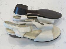 SAS 8 W Wide Ivory Sandals Shoes Tripad Comfort USA Slingbacks Open Toe