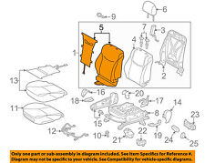TOYOTA OEM 2010 Prius Front Seat-Cushion Cover-Top Back Right 7107347230B0