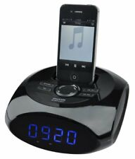 Elbe Mi-40 radio despertador con base Docking 2 X 2 W toma Aux-in y salida USB